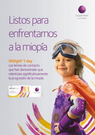 Lentillas para niños en Zaragoza